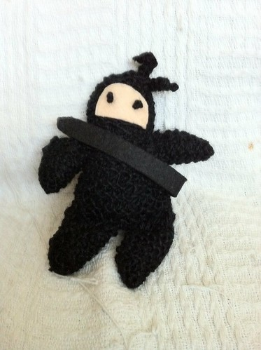 Knit your own ninja!