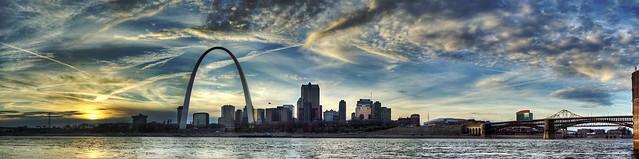 St. Louis Skyline Panorama