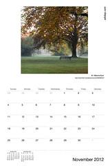ADIDAP Calendar 2012 US November