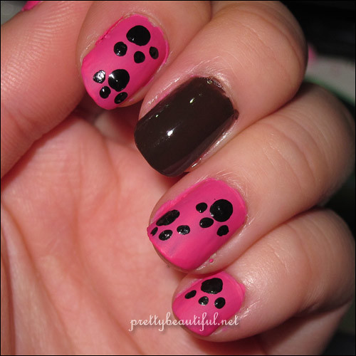 Bow-wow nail art