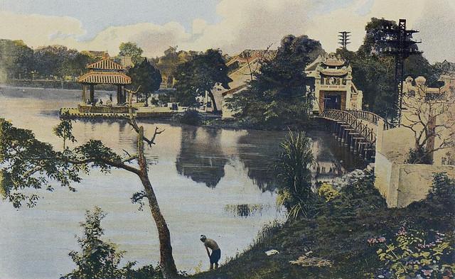 Tonkin - Hanoi, le petit Lac