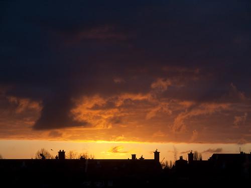 sunrise groningen viewfrommywindow zonsopkomst