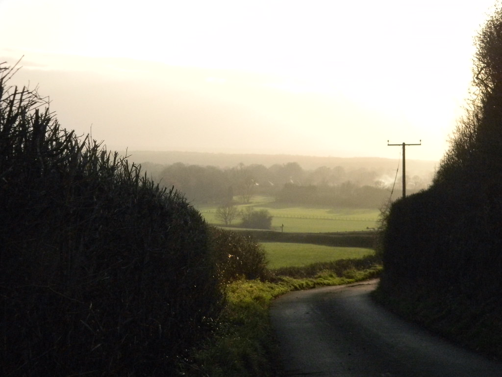 View from the ridge Pluckley Circular (shorter extension)