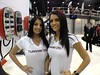CES booth babe