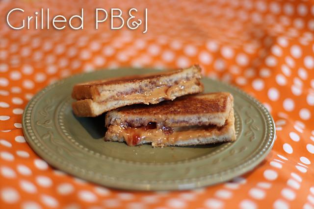 Grilled PB&J