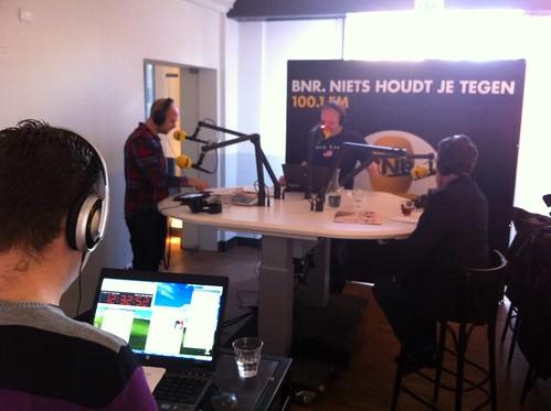 Interview at BNR Nieuwsradio