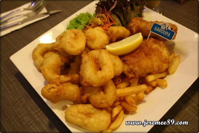 Blue Reef Fish & Chip @ Straits Quay - Seafood Galore - Garoupa