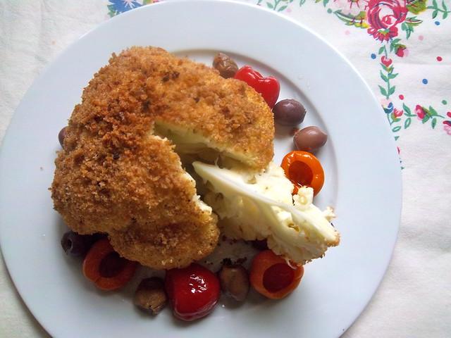 Whole Head Roasted Cauliflower Recipes — Dishmaps