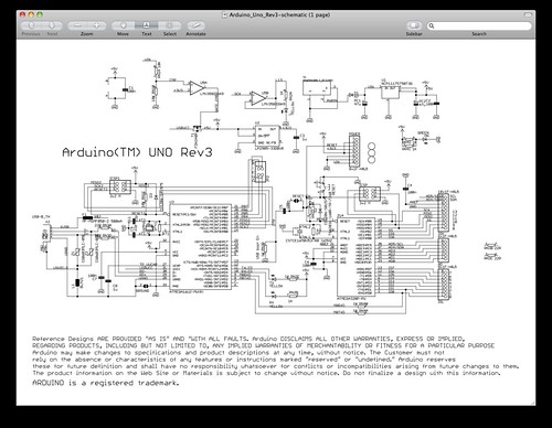 Arduino Uno Revision 3 Schematic