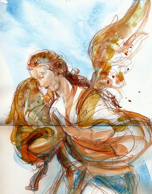 'Adoring Angel,' circa 1735-1760, NCMA