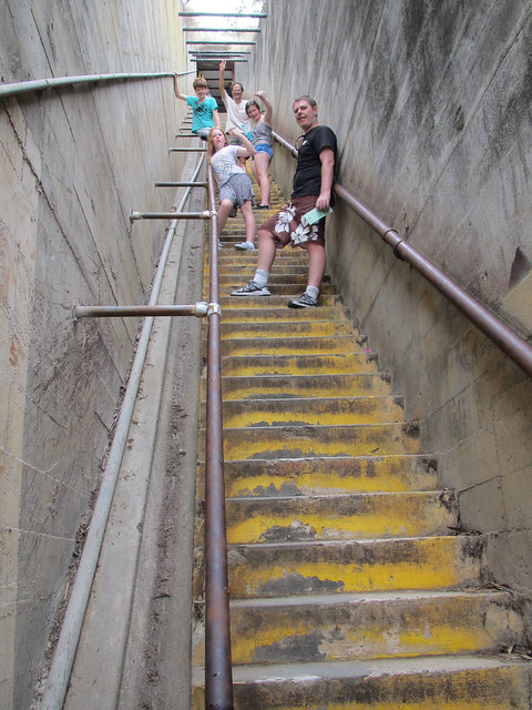 Steep Stairs