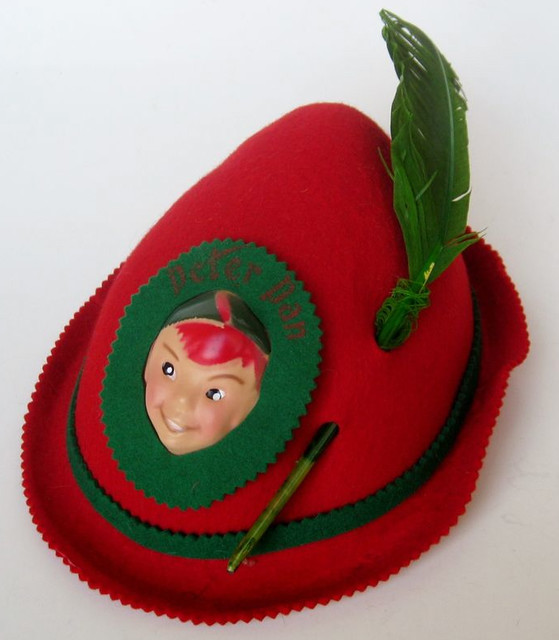 1960s Disneyland Peter Pan hat