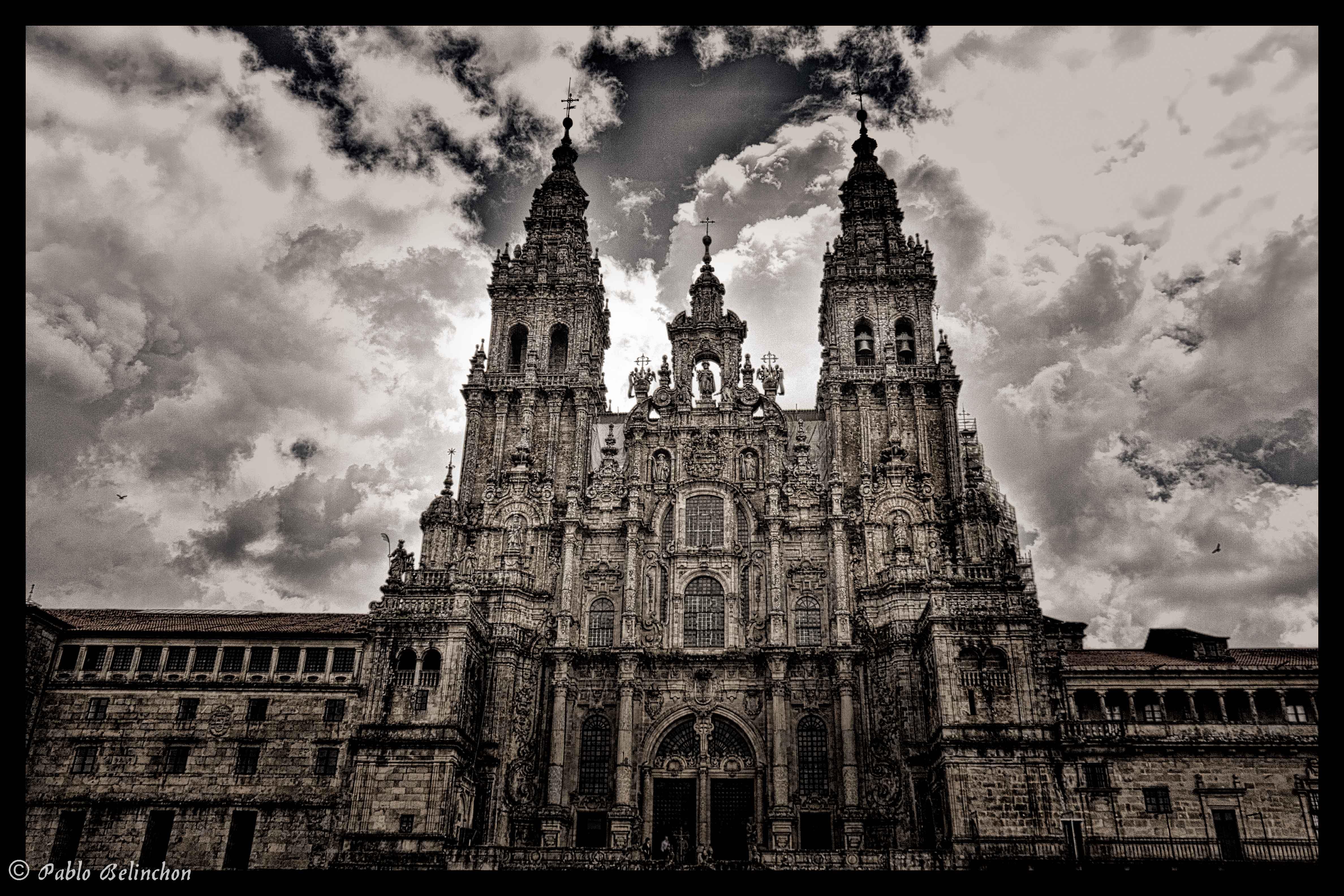Pablo belinch n catedral de santiago de compostela for Oficina correos santiago de compostela