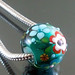 Charm bead : Green fresh