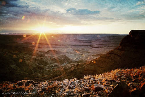 Fish River Canyon at sunrise by fotoshoota.com