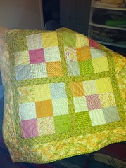 Verna quilt, pattern by Kate Spain