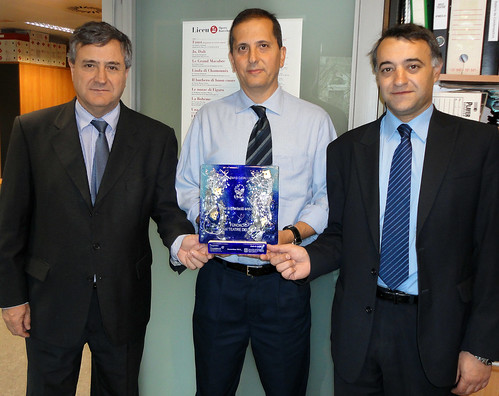 Award for the environmental project by EMTE Service at the Liceu