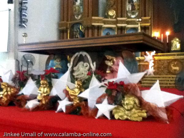 St. John the Baptist Church, SM Calamba, New Year 2012 at Calamba