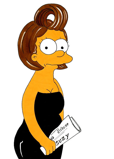 Marge Simpson Loves Suzy Menkes
