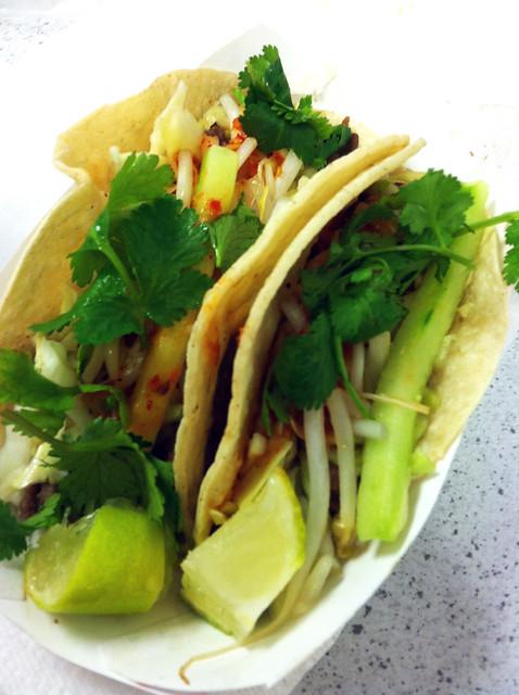 Bulgogi & Short Rib Tacos