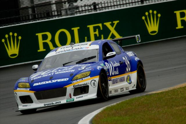 Anders Krohn in #36 Mazda