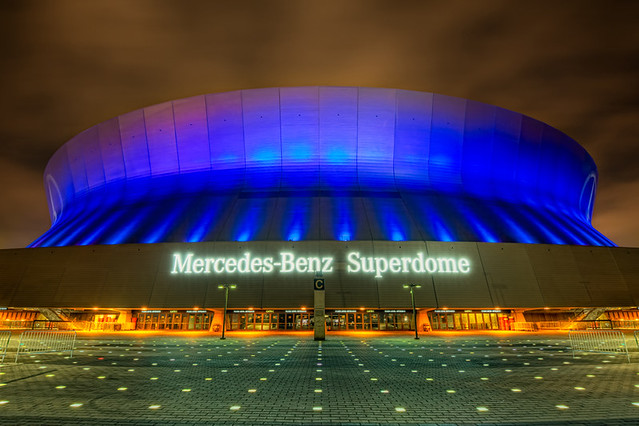 Mercedes benz superdome flickr photo sharing for Mercedes benz new orleans