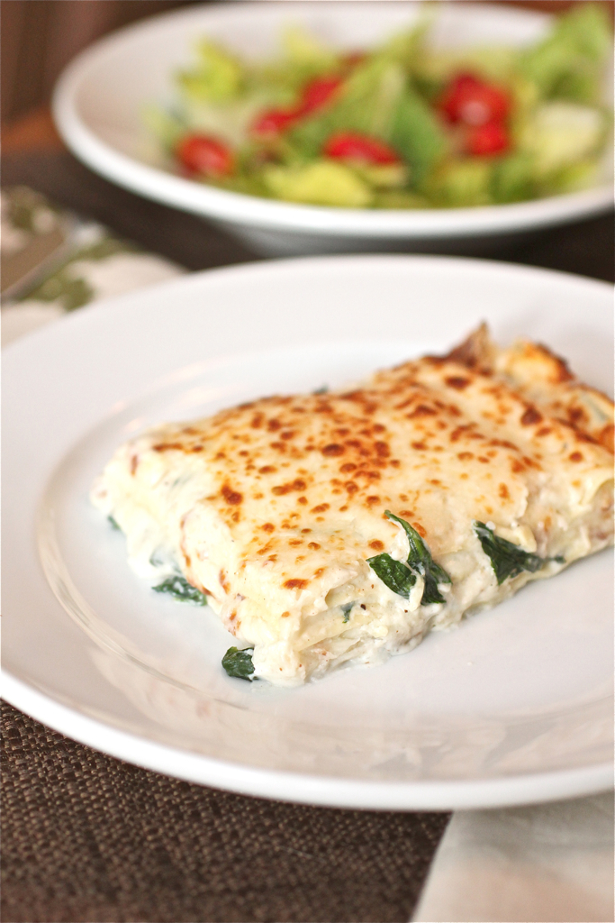 Spinach lasagna smells like home for Different kinds of lasagna recipes