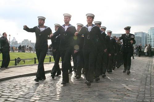 Navy Ratings arrive