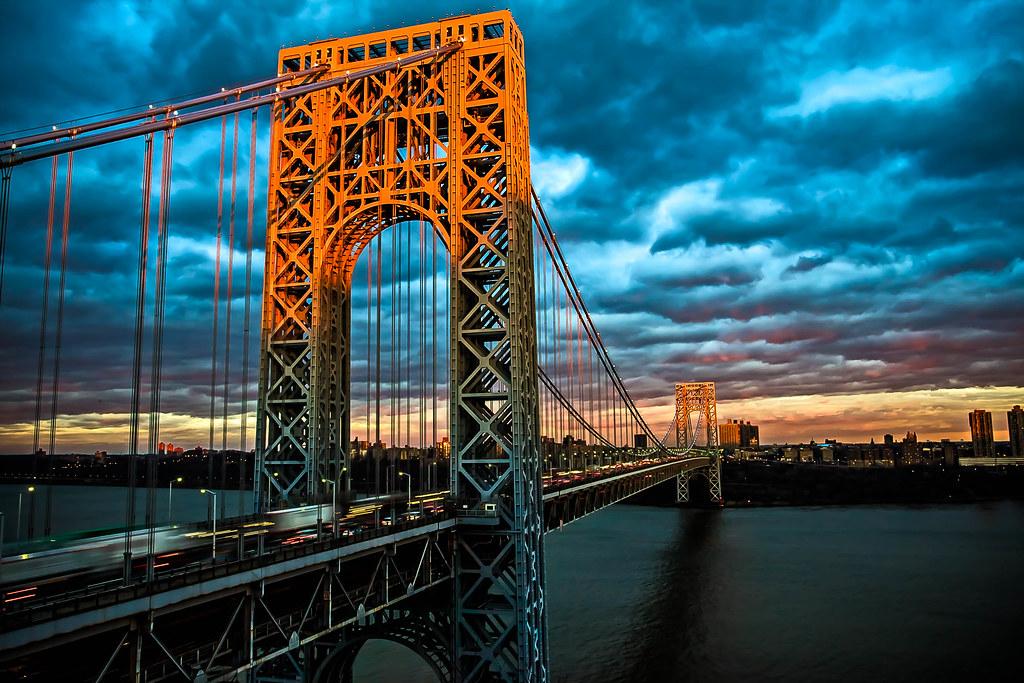 [美图] 乔治华盛顿大桥 世界最繁忙大桥(18P) - 路人@行者 - 路人@行者