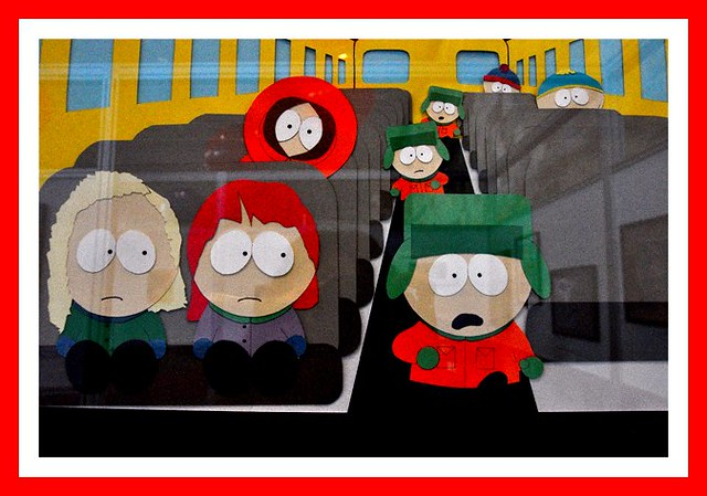 South Park Art at MacWorld 2012