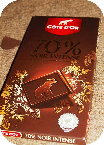 Cote d'or 70% Noir Intense