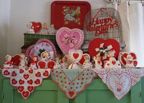 Vintage Valentine Decorations-2012 by MissConduct*