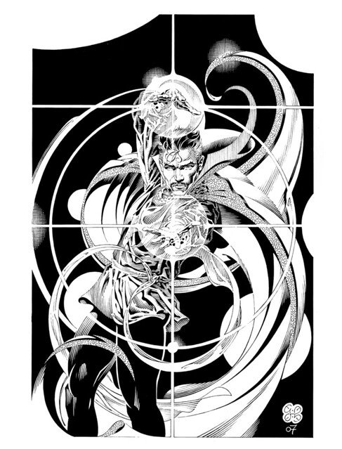 Dr Strange 2007 by Craig Hamilton from comicartfans