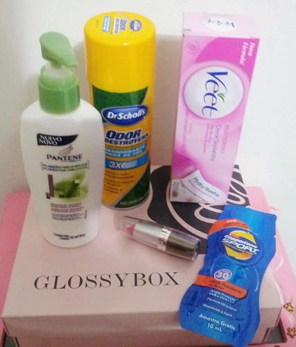 glossy box de janeiro 2012