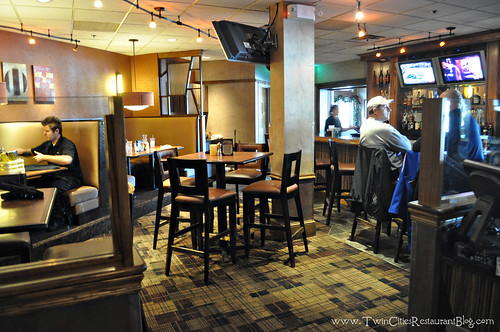 Bar Area at Girvan Grille ~ Brooklyn Park, MN