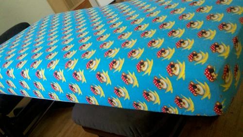 Flannel crib sheets