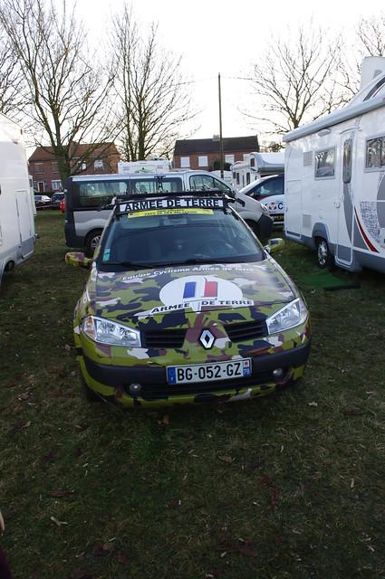 フランス陸軍のチームカー