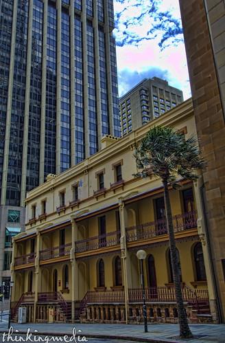 Sydney Hospital Nurses Annexe c.1875
