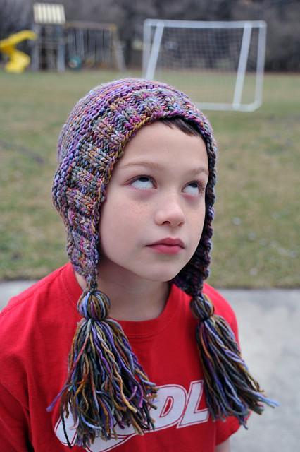 Ethan as hat model