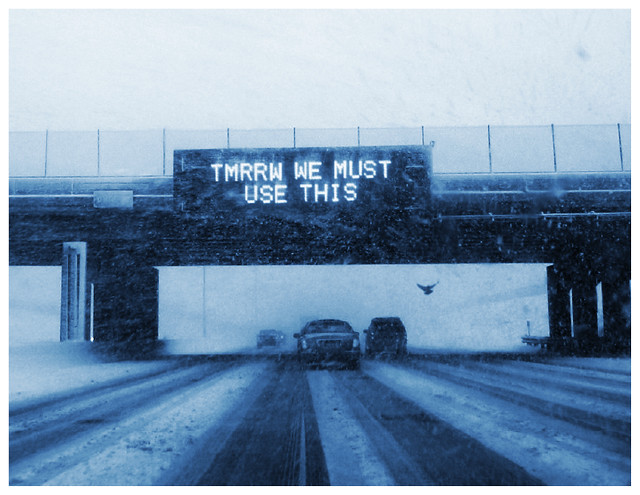 Twitter Carrier Pigeon. I-94, Minnesota. Seth Weiner