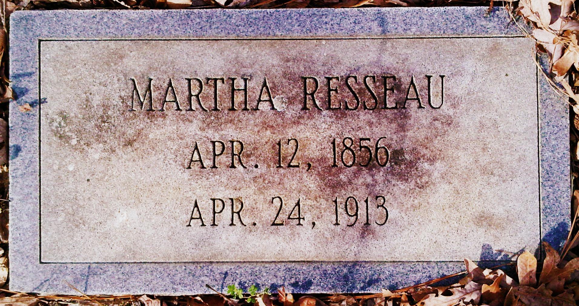 Martha Resseau