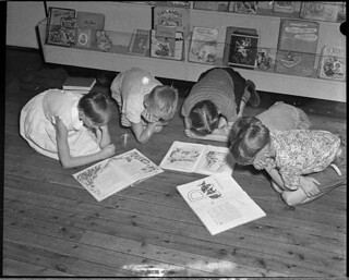 Children's Library, Hood Collection, 6 January 1955