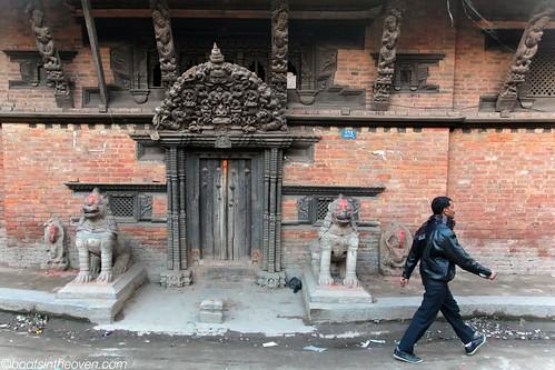 Temple Entrance, Thamel