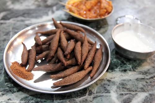 Canchampa (buckwheat fritters)
