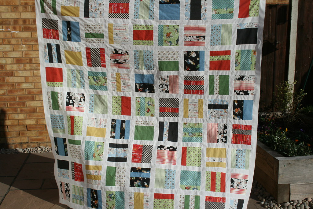 Alice Mixtape quilt