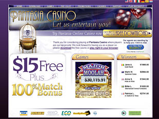 Pantasia Casino Home