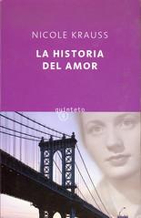 Nicole Krauss, La historia del amor