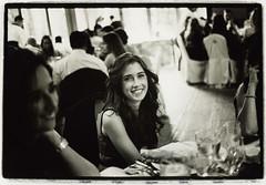 Girl at table - Edward Olive destination wedding photographer in Spain Madrid Ibiza Mallorca Malaga Barcelona