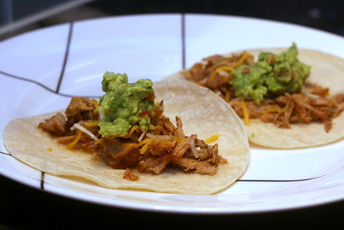 dr pepper pulled pork tacos