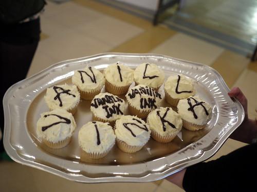 Vanilla Ink Cupcakes!